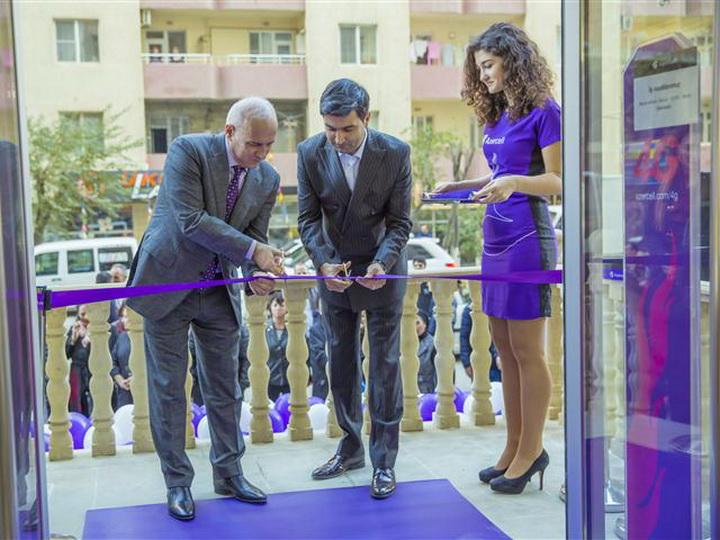 Новая концепция от «Azercell»: Полное обслуживание теперь в Хырдалане – ФОТО