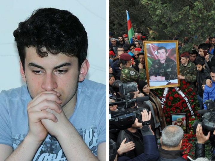 Сын шехида Рагуфа Оруджева: «До апрельских боев мы и не знали, каким наш отец был героем…»