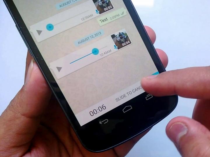 WhatsApp-ın səsli ismarış funksiyasına çoxdan gözlənilən yenilik gəlir - FOTO