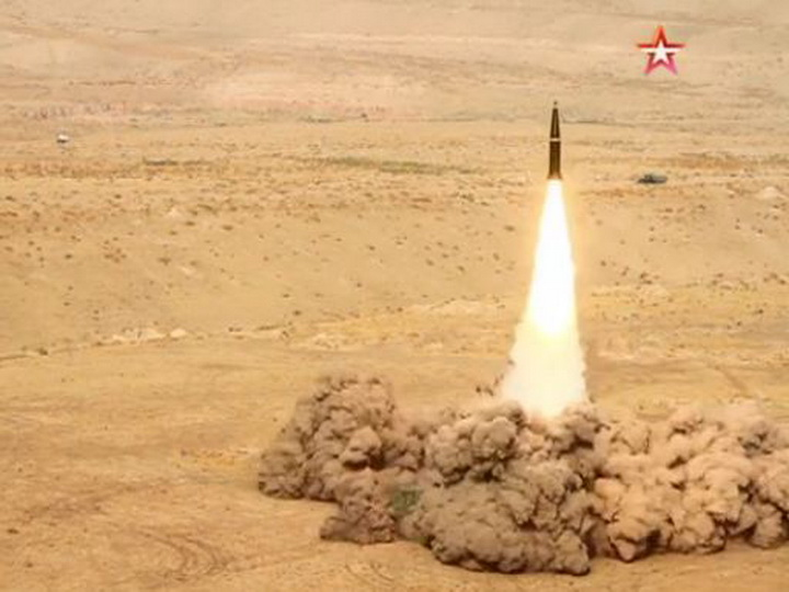 Пуск улучшенной ракеты «Искандер-М» показали с расстояния 100 метров - ВИДЕО