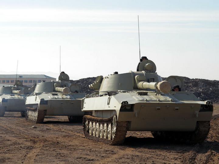 Войска Нахчыванского гарнизона приняли участие в командно-штабных играх ВС - ФОТО - ВИДЕО