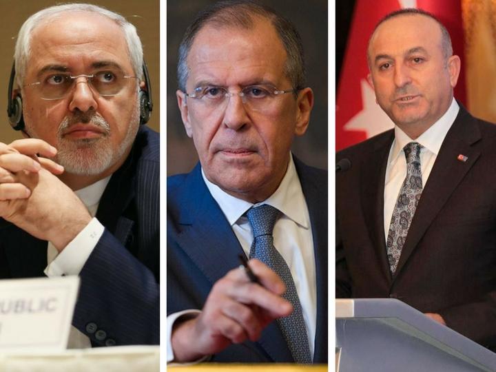 Главы МИД России, Ирана и Турции отметили снижение уровня насилия в Сирии - ОБНОВЛЕНО