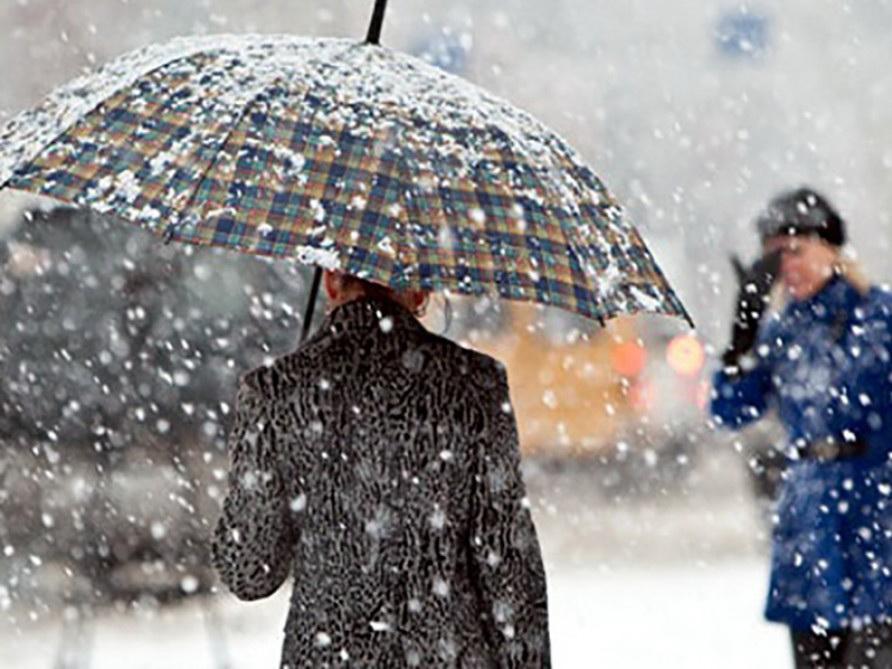 В субботу на Абшероне возможен мокрый снег