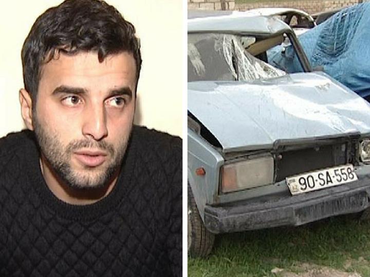 В Баку задержан водитель, который сбил четырех пешеходов и сбежал - ФОТО