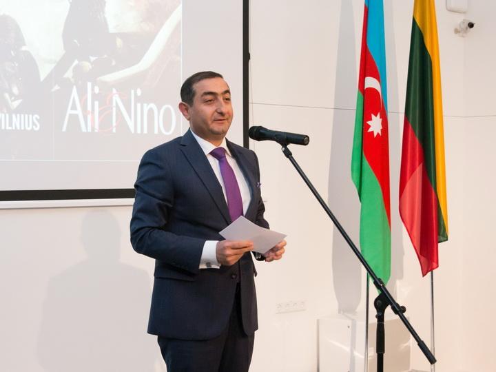 В Литве состоялась презентация фильма «Али и Нино» - ФОТО