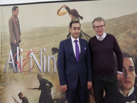 """Litvada """"Ali və Nino"""" filminin təqdimatı keçirilib"""