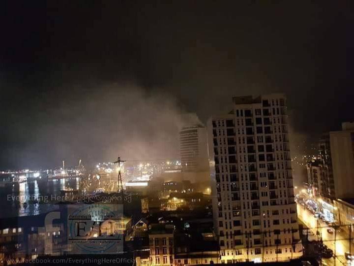 В гостинице в Батуми произошел пожар: 11 погибших - ФОТО - ВИДЕО - ОБНОВЛЕНО