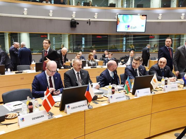 Президент Ильхам Алиев: Партнерство с ЕС – один из главных приоритетов внешней политики Азербайджана