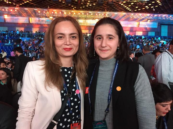 Иванка Трамп высоко оценила изобретение юной азербайджанки - ФОТО - ВИДЕО