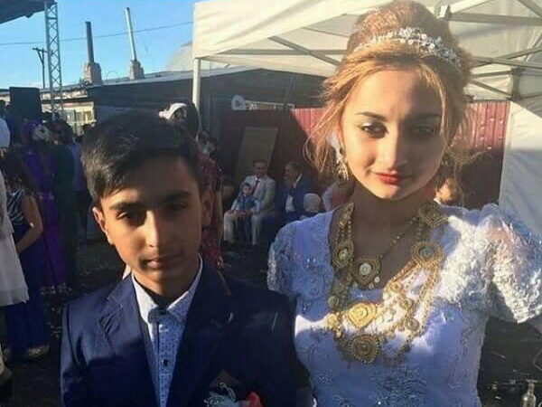Такой обычай. В Азербайджане поженились 13-летний мальчик и 14-летняя девочка? – ФОТО