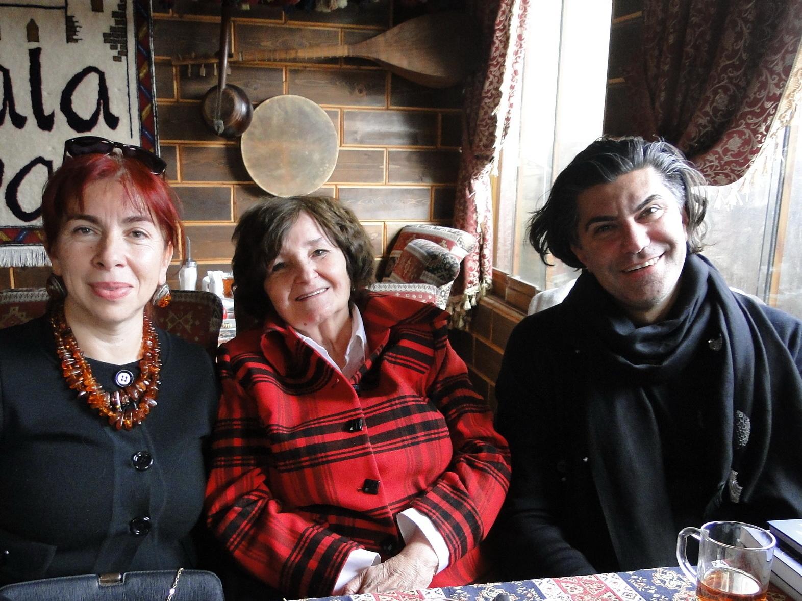 Завтрак с Николаем Цискаридзе в Ичери-шехер - ФОТО