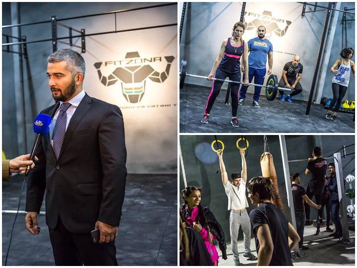 Fitzona: как создавался спортивный зал за 1 манат в самом центре Баку– ФОТО – ВИДЕО