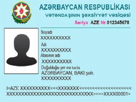 Будут представлены новые удостоверения личности для граждан Азербайджана