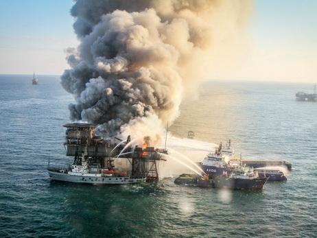 Прошло 2 года с момента трагедии на платформе «Гюнешли» – ФОТО
