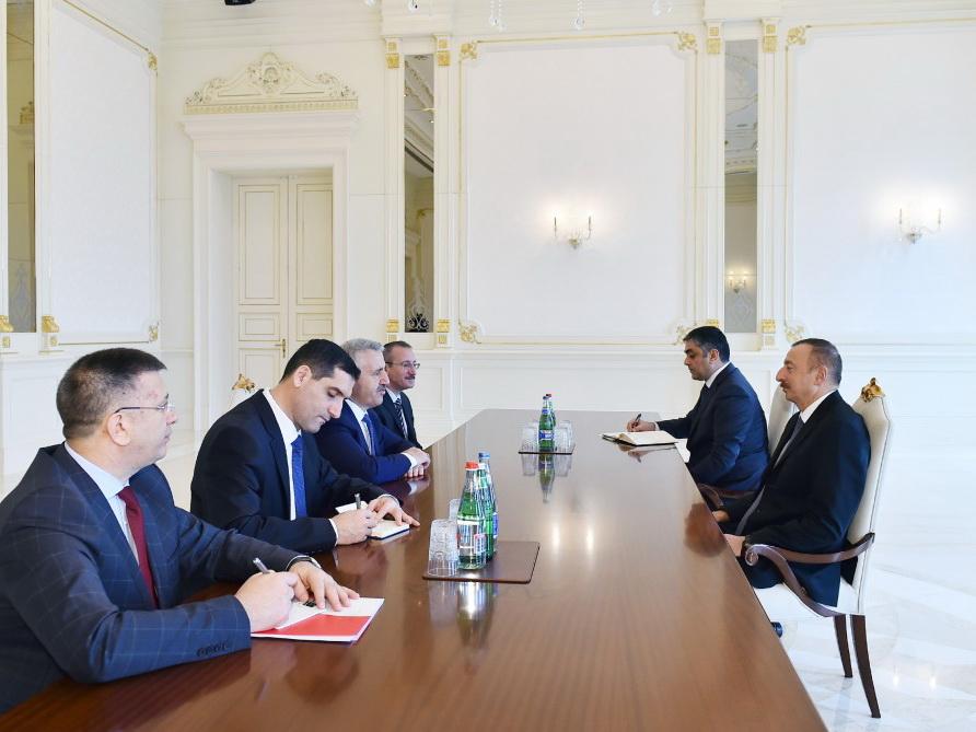 Президент Ильхам Алиев принял министра транспорта, мореходства и связи Турции - ФОТО