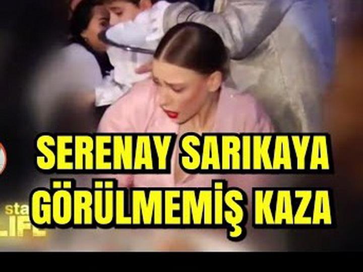 Официант пролил воду на голову актрисы Серенай Сарыкая - ВИДЕО