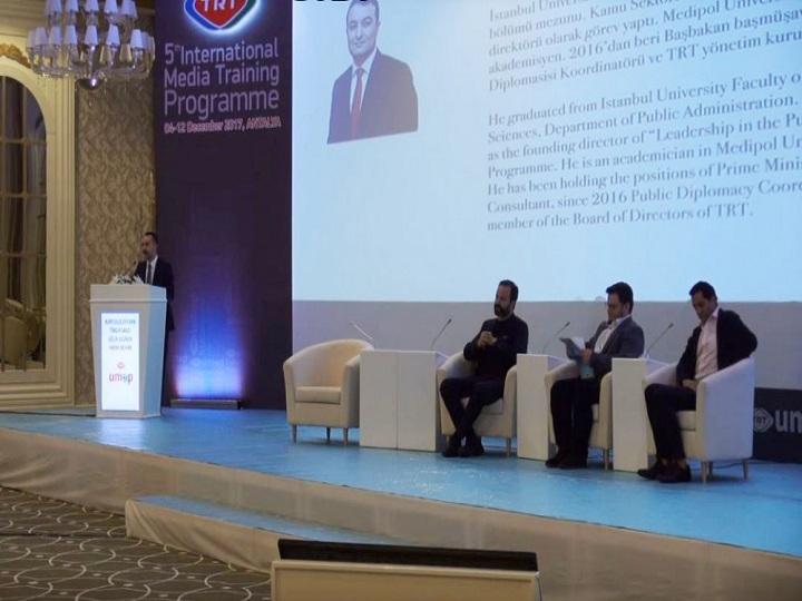 TRT-nin V Beynəlxalq Media Təhsili Proqramında AZƏRTAC da təmsil olunur – FOTO