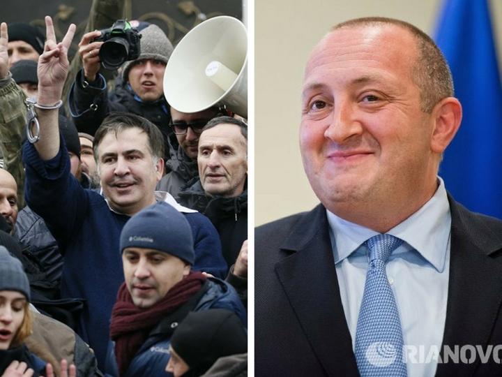 Президент Грузии: «Надеемся, что Саакашвили будет в безопасности»