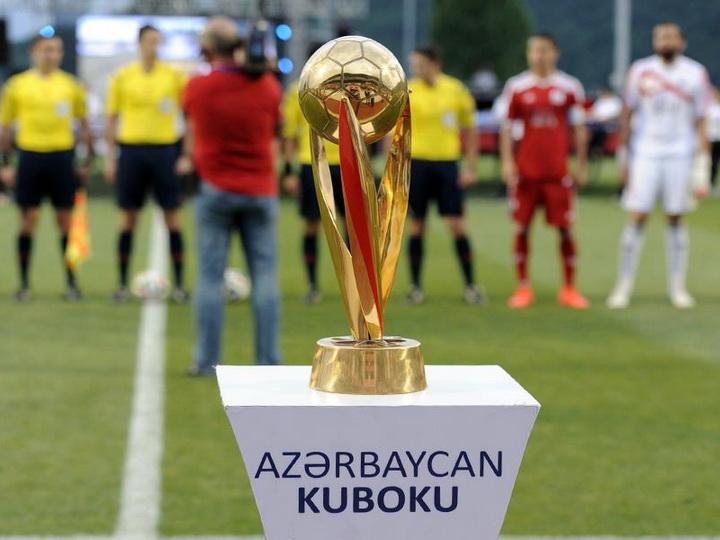 Azərbaycan kuboku:1/4 finalın ilk oyunlarının vaxtı açıqlandı