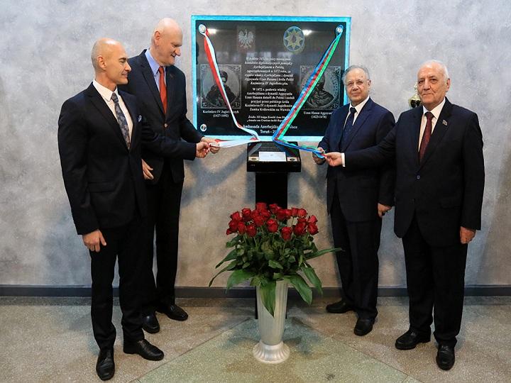 Polşada Azərbaycanla diplomatik əlaqələrin 545 illiyi qeyd olunub - FOTO