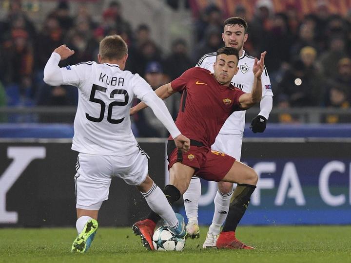 «Карабах» проиграл «Роме» и завершил выступление в Лиге чемпионов – ФОТО – ОБНОВЛЕНО