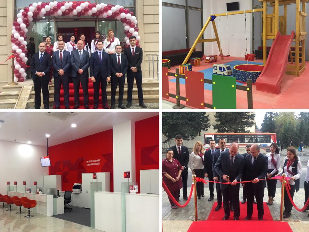 Kapital Bank открыл обновленный филиал «Бакиханов» в новой концепции