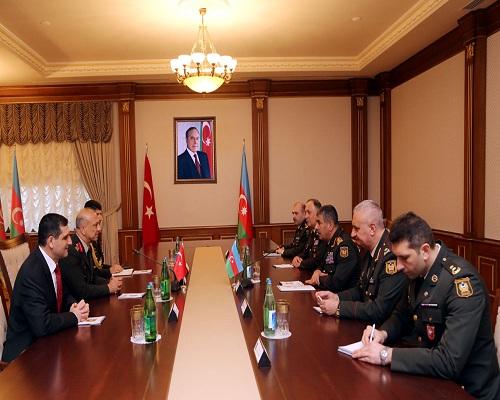 Zakir Həsənov türkiyəli generalla görüşüb