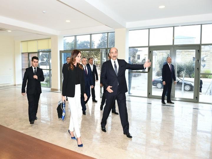 Maştağa Mədəniyyət Mərkəzinin yeni binası istifadəyə verilib – FOTO