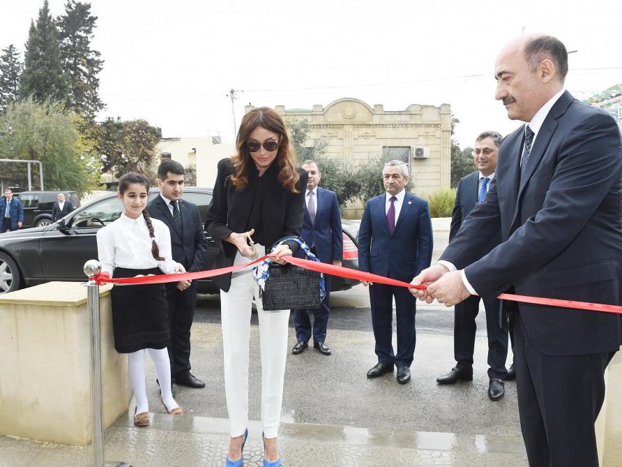 Мехрибан Алиева приняла участие в церемонии открытия нового здания Маштагинского центра культуры - ФОТО