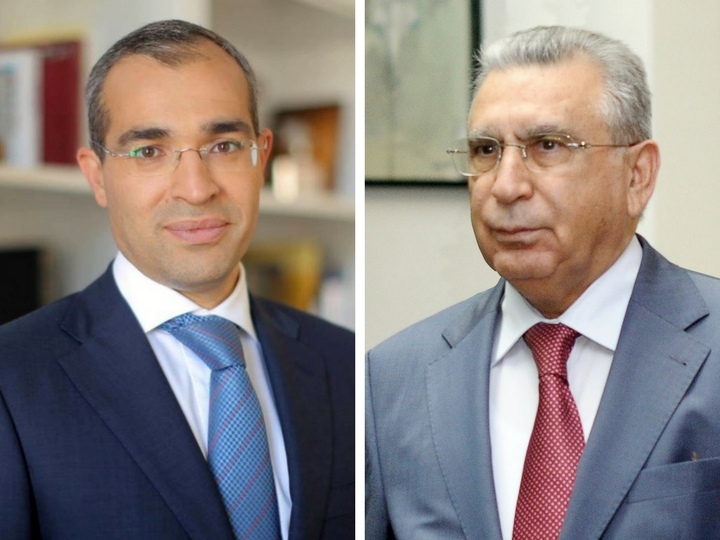 Рамиз Мехтиев представил Микаила Джаббарова коллективу Министерства налогов