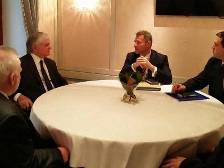 В Вене началась встреча главы МИД Армении с сопредседателями МГ ОБСЕ