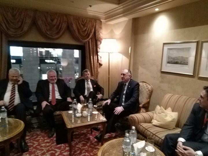 В Вене проходит встреча главы МИД Азербайджана с сопредседателями МГ ОБСЕ - ФОТО