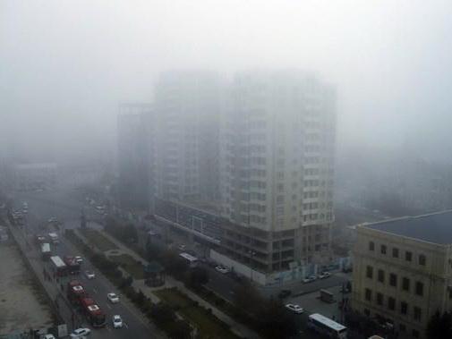 Дорожная полиция Баку предупредила водителей в связи с дождем