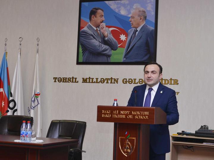 Мастер-класс вице-президента BP в Бакинской высшей школе нефти
