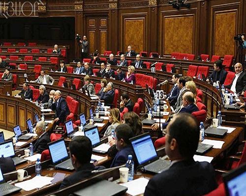 Ermənistan parlamenti müdafiə sahəsində 100 milyon dollarlıq sazişi təsdiqləyib