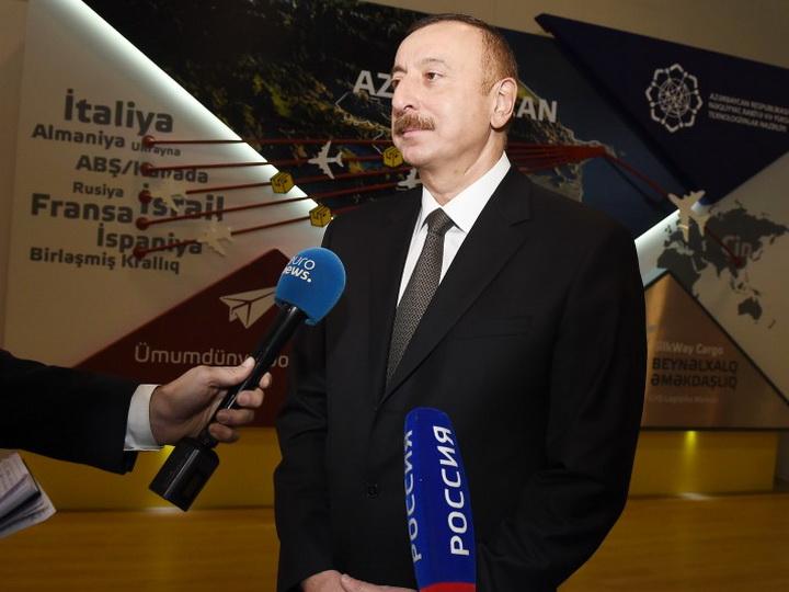 Ильхам Алиев: «Наша страна обладает большим потенциалом» - ФОТО