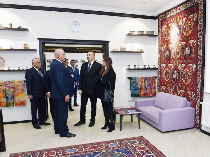 Президент Азербайджана открыл в Губе филиал ОАО «Азерхалча» - ФОТО