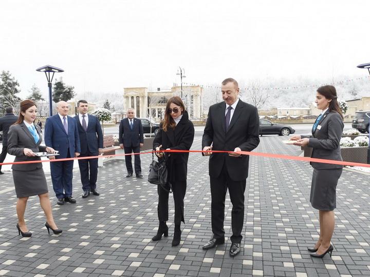 """Quba """"ASAN həyat"""" kompleksi istifadəyə verilib - FOTO - YENİLƏNİB"""