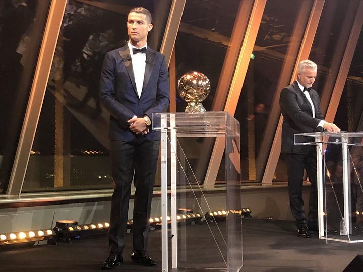 Роналду впятый раз получил «Золотой мяч» идогнал Месси - ФОТО - ВИДЕО
