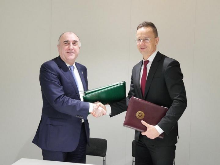 В Вене подписаны два документа между Азербайджаном и Венгрией - ФОТО