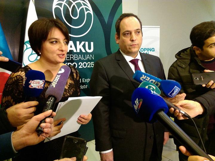 Представитель Международного бюро выставок о сильных сторонах Баку в соревновании за Экспо-2025 – ФОТО
