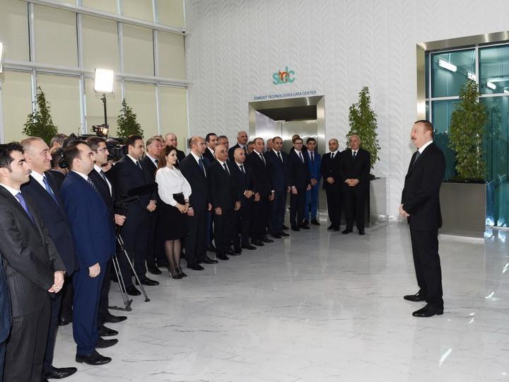 Президент Ильхам Алиев: Сумгайыт является вторым после Баку крупным промышленным городом на Южном Кавказе - ФОТО