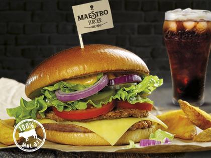Вкусная новинка в McDonald's: Maestro Burger - новое сочетание вкусов и ингредиентов - ФОТО