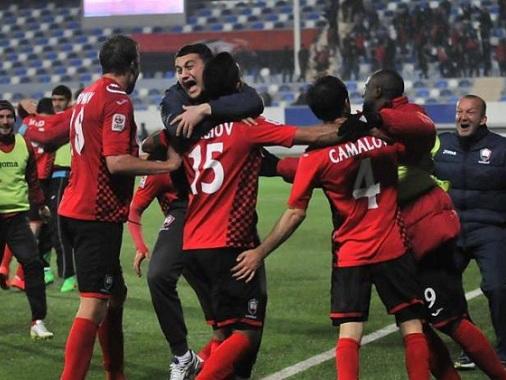 «Габала» вышла в полуфинал Кубка Азербайджана и стала соперником «Нефтчи»