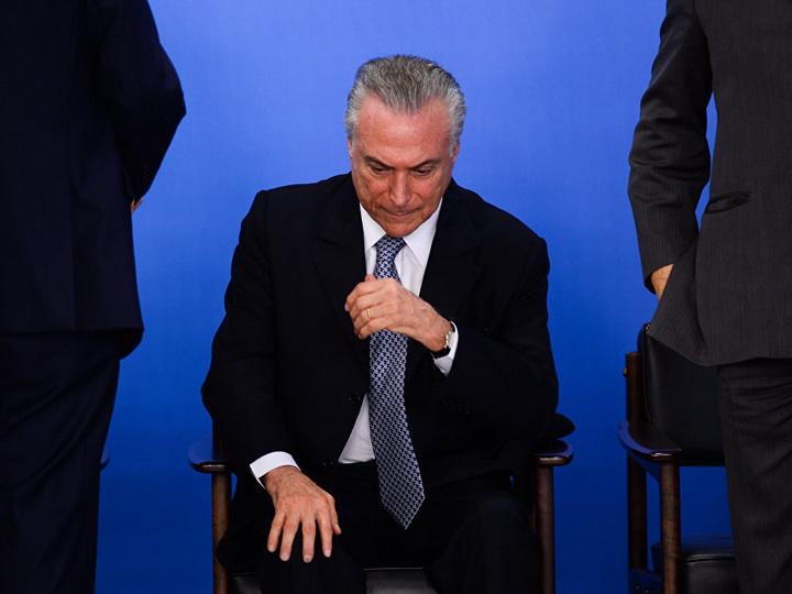Президента Бразилии выписали из больницы после операции