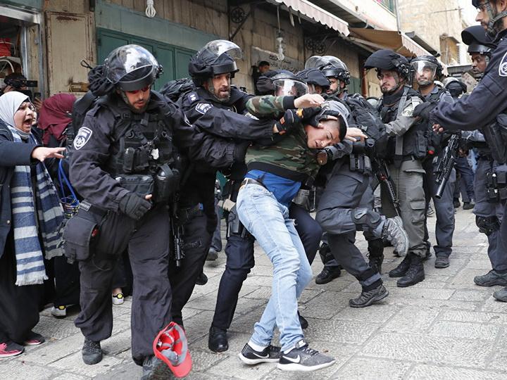 В ходе столкновений с израильской армией ранены 263 палестинца