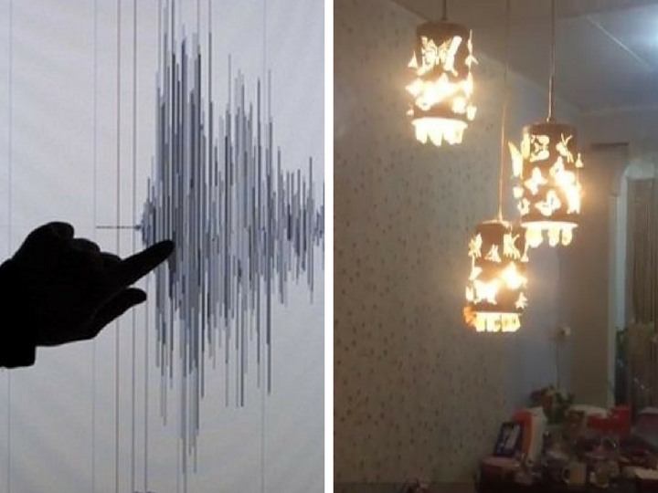 Опубликованы кадры мощного землетрясения в Индонезии – ВИДЕО