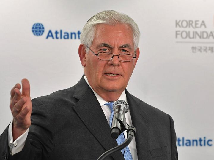 Тиллерсон заявил, что надеется на изменение политики КНДР