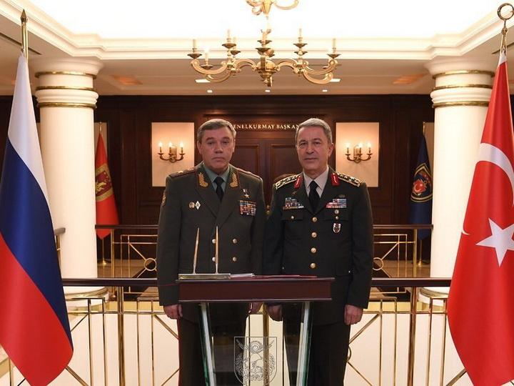 Глава российского генштаба провел переговоры с турецким коллегой в Анкаре
