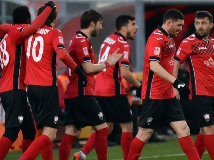 «Габала» проведет семь матчей в Анталье